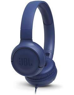 JBL Tune 500 Auriculares Estereo Casco con Microfono Azul
