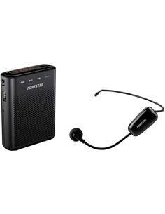 FONESTAR Altavoz Amplificado Con  Microfono Inalambrico y Con Cable ALTA-VOZ-W30 Radio,Usb,Micro sd