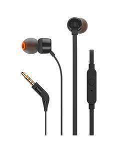 JBL T110 Mini Auriculares Estereo con Microfono Negro