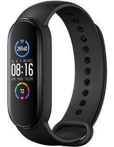XIAOMI Pulsera Actividad MI Smart BAND 5 Negra Monitor Sueño, Notificaciones, Resistente al Agua