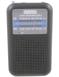 DAEWOO Radio Bolsillo Digital AM/FM DRP-8B
