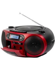 AIWA Radio CD Portatil Bluetooth BBTC-550RD Usb,Aux In,Mp3,6W