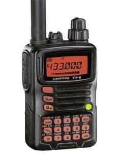 YAESU Emisora Portatil Doble Banda VHF/UHF  VX-6E