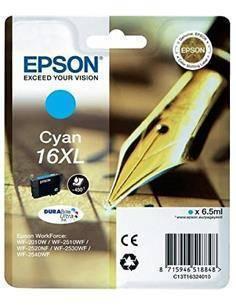 EPSON Tinta 16XL Cyan Para WF-2010W/2510/2520