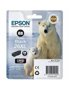 EPSON Tinta 26XL Foto Negra Para XP-510/520/600/625/700/800