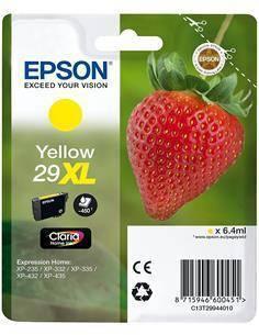 EPSON Tinta 29XL Amarilla para XP-235, XP-332, XP-335, XP-432, XP-435