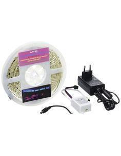 IBIZA Pack Tiras Led RGB Flexible Con Mando Distancia 5Mtrs LLS500RGB-PACK