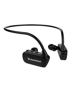 SUNSTECH Reproductor Mp3 8Gb/Bluetooth Diadema Negro ARGOSHYBRID Sumergible 3 Mtrs IPX8