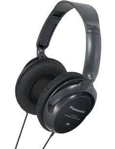 PANASONIC Auricular De Casco Grande RP-HT225 Con Control Volumen 3Metros Cable