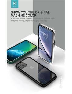 DEVIA Funda IPHONE 11 Pro Max Tpu Transparente Dura Shark4 Shockproof