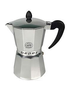 BEPER Cafetera Induccion Italiana Alulminio 6 Tazas CA.013