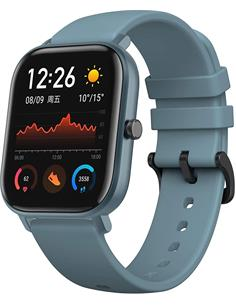 AMAZFIT Reloj Smartwatch GTS NFC Amoled/Resistente al Agua 50M/GPS Azul