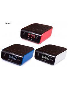 TIMEMARK Radio Reloj Despertador Digital CL512 Varios Colores