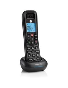 MOTOROLA Telefono Inalambrico CD4001 Negro Anti Spam