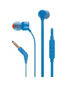 JBL T110 Mini Auriculares Estereo con Microfono Azul