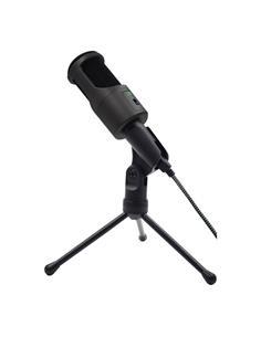 WOXTER MIC STUDIO 50 Microfono Condensador Usb con Tripod y Reductor De Sonido Negro