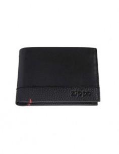 ZIPPO Catera Con Monedero Nappa Negro Bi-Fold 2006021
