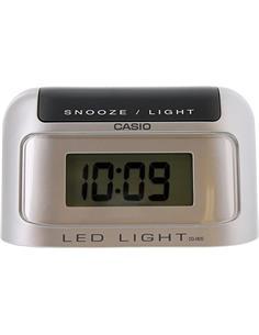 CASIO Reloj Despertador Mod DQ-582D-8RDF Plata