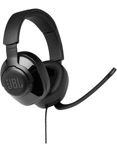 JBL Micro Auricular Casco Gaming Para PC,PS4,Xbox One,Switch QUANTUM 300 Negro,Cable,Jack 3.5m,Usb