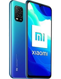 "XIAOMI Telefono Movil Mi 10 Lite 5G Azul Aurora 6.57"",6Gb Ram,128Gb,Octa Core,48Mp,Sensor huella"