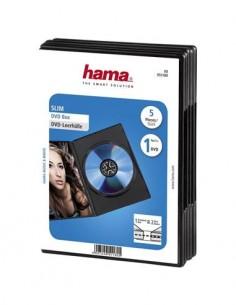 HAMA Caja Dvd Slim 1Cd X 5 Unidades