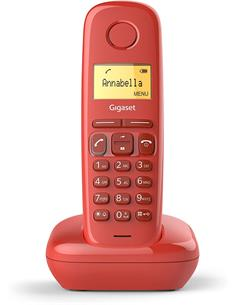 GIGASET Telefono Inalambrico A170 Roja