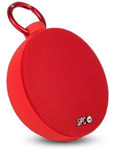 SPC Altavoz Portatil Bluetooth 4415R Rojo Redondo Manos Libres,5W