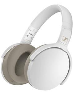 SENNHEISER Auricular de Casco Cerrado Bluetooth 5.0 HD 350BT Blanco Asistente de Voz