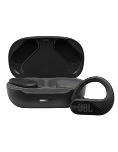 JBL Auricular Bluetooth Endurance Peak 2 Negro Con Estuche de Carga Manos Libres,Resistente al Agua
