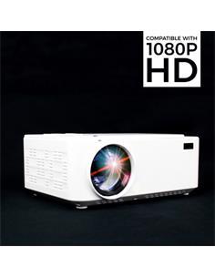 "PRIXTON Proyector Goya P20 1080 Full HD 2800Lm, 2xHDMI,VGA Desde 30""a 150"",Altavoz Integrado"