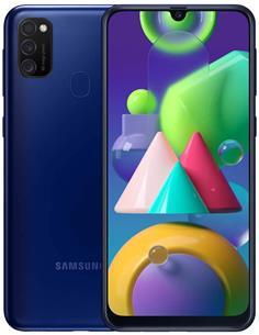 "SAMSUNG Telefono Movil GALAXY M21 SM-M215F/DSN Azul Dual Sim, 6.4"", 64Gb, 4Gb Ram,48+8Mp"