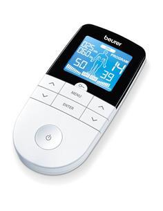 BEURER Electroestimulador Digital EM49 Tens Aparato3 En 1 4 Electrodos/64 Programas/EMS/Masaje/TENS