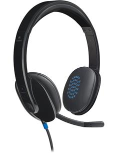 LOGITECH Micro Auricular Por Usb Con Cancelacion De Ruido  H540 Negro