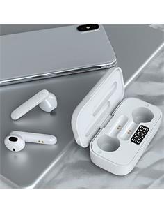 DEVIA Auriculares Estereo Bluetooth TWS JOY A2 Series Estuche Carga Blanco EM401