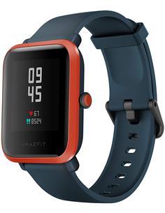 AMAZFIT Reloj Smartwatch BIP S Rojo Naranja A1821 Deporte,Notificaciones,BT,Ritmo Cardiaco,GPS