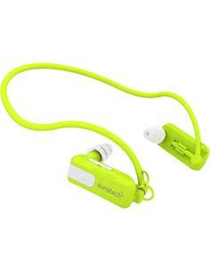 SUNSTECH Reproductor MP3 Triton 8Gb Deportivo Diadema Sumergible 3Mtrs Verde