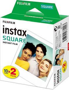 FUJIFILM Pack 2 Juegos de Papel Fotografico Instax Square