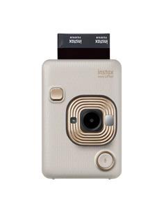 FUJIFILM Camara de Fotos Instantanea INSTAX Mini LiPlay Beige