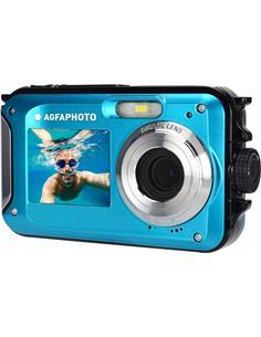 AGFA Camara Digital Compact Cam WP8000 24Mpx, Sumergible Hasta 3mtrs Azul