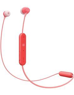 SONY Auricular Estereo Bluetooth WI-C300 Rojo Con Manos Libres