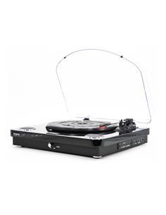 AIWA Tocadisco Con Altavoz GBTUR-120BK Bluetooth,Usb,SD,Radio Fm,Mp3 2X5W RMS