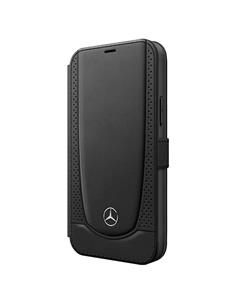 MERCEDES BENZ Funda Iphone 12 Pro Libro Negro Perforada