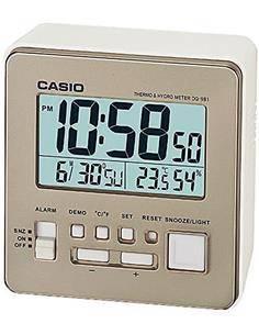 CASIO Despertador Digital DQ-981 Color Oro