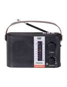 TREVI Radio Recargable Bluetooth 3 Bandas,USB,Micro SD RA7F25BT