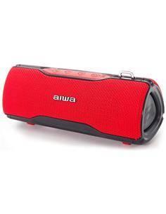 AIWA Altavoz Bluetooth 12W Resistente al Agua BST-500 Rojo