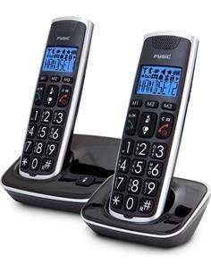 FYSIC Telefono Inalambrico Duo Botones Grandes FX-6020