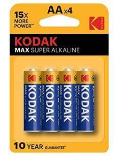 KODAK Pack 4 Pilas AA Alcalinas