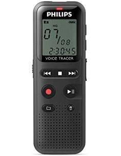 PHILIPS Grabadora de Voz Digital DVT1150 Usb PC Link, 4Gb
