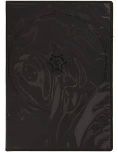 HAMA HAA69051181 Caja De Dvd Slim 10 Unidades Negra