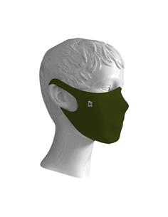 IMASKKI Mascarilla Higienica Neopreno Integral Para Adulto Verde Oliva Talla L MH304L